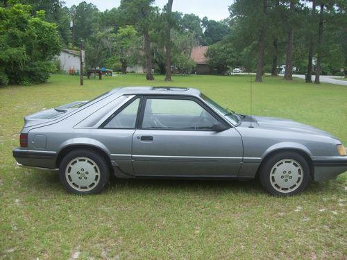 1986 Mustang Svo 1d Dark Gray
